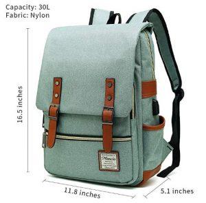 Slim Vintage Backpack By Mancio
